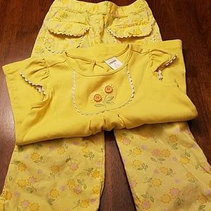 Sunflower pants set...very pretty